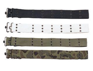 Iron Metal Buckle Canvas Pistol Belt 42 Waistband