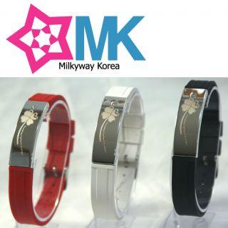 Four Leaf Clover Ionic Balance Wristband Power Bracelet