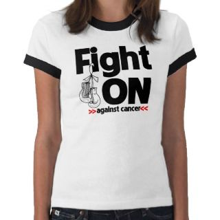 Fight On Against Lung Cancer Shirt