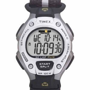 Timex Ironman Triathlon Watch Velcro Strap 100 Meter WR Indiglo T5F251