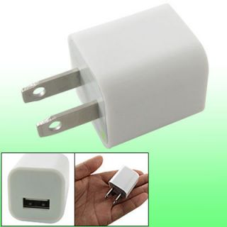 AC US Adapter USB Travel Charger for Apple iPhone 4 4G
