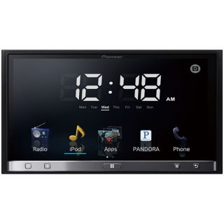 Pioneer Appradio Car Stereo with iPhone 4 App Control and 7 0