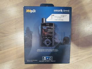 Sirius XM Portable Satellite Radio XMp3i