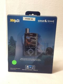 Sirius XM Radio XMp3i Portable Satellite Radio Receiver