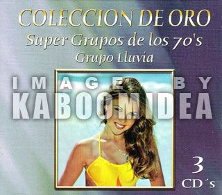 Grupo Lluvia Coleccion de Oro 3 CD s Set New Exitos
