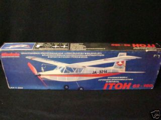 1970s Modela Japanese Itoh 62 160 Air Plane Model Kit Vtg Old Antique