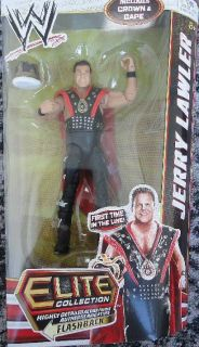 WWE Mattel Elite Series 18 Jerry Lawler NEW MOC POPULAR IN HAND READY