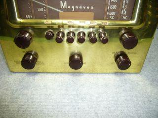 Amp Hi Fi Audio Sound Short Wave Brass Radio Antique Broadcast