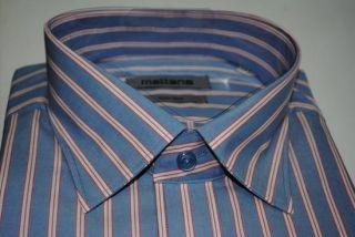 Camicie Uomo Classiche Collo 47 Italia Manica Lunga Cotone Stiratura