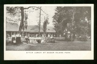 Sugar Island Park Detroit Michigan 1908 E23