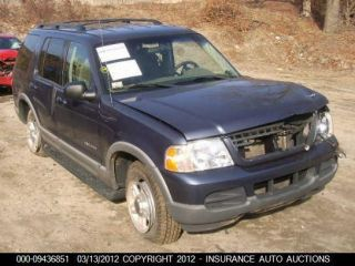 02 03 Ford Explorer Engine 4 0L