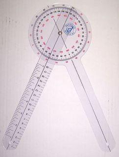 Protractor Goniometer 12 inch 360 Degree Prestige Medical