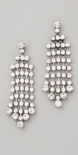 Club Monaco Crystal Dangle Earrings