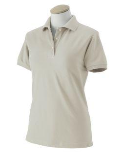 IZOD Womens Silk Wash Pique Polo Sport Shirt Any Sz CLR