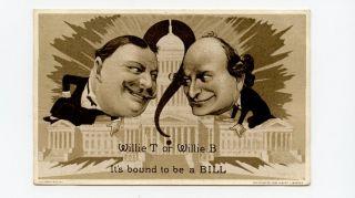 1908 US President Campaign William Howard Taft   William Jennings