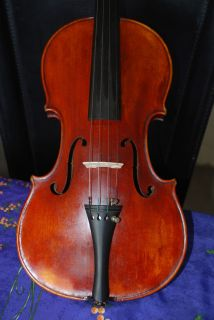 Antique French Violin Labelled Paul J B Chipot 1920s Beautiful