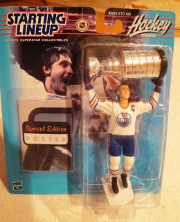WAYNE GRETZKY 2000 Edmonton Oilers With Stanley Cup Starting Lineup