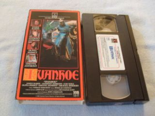 Ivanhoe VHS 1982 Sam Neill James Mason
