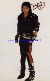 Must Have Michael Jackson Bad Full Outfit Profesional