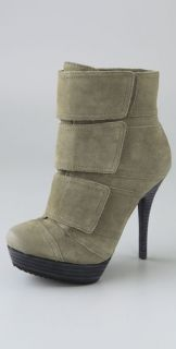 Luxury Rebel Renata 3 Tab Suede Booties
