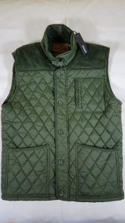 Buffalo David Bitton Jantler Diamond Quilted Vest Men Sz Medium Kazan