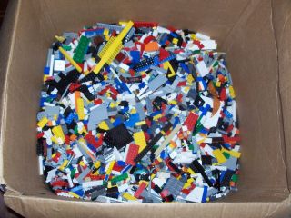 Bricks Pieces Parts Random Mix lbs Star Wars Knight Vintage