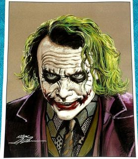 The Joker Limited Print Signed by Artist Neal Adams