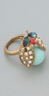 Juicy Couture Vintage Love Bug Ring