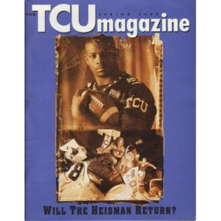 2000 TCU Magazine LaDainian Lt Tomlinson Heisman Trophy Winner FW