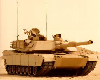 M1A2 Abrams US Battle Tank 3816 RC Airsoft Radio Control Military BB