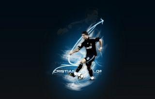 2012 Cristiano Ronaldo 7 Blue Real Madrid Jersey XL