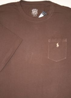 Polo Ralph Lauren Mens XLT 2XLT Chest Pocket Tshirt Tee