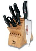 Henckels 5 Star 10 Piece Knife Set with Wood Block