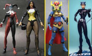 BATMAN HUSH Catwoman Harley Quinn Zatanna Big Barda DC Universe