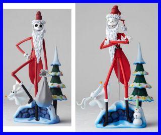 Rara Figura Jack Skellington Skeletron NATALE Santa Claus Kaiyodo