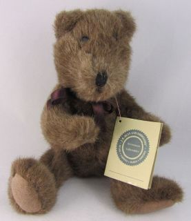 Collection J B Bean Brown Plush Stuffed Teddy Bear 1985 Boyd S