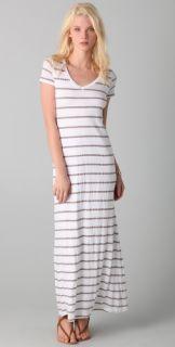 Splendid Nutmeg Stripe Maxi Dress