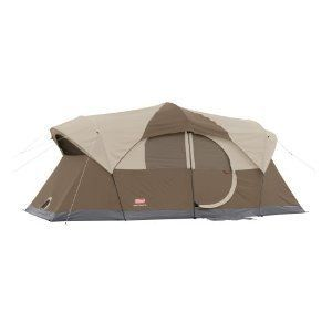 Coleman Family Sleeps 10 Person Room Dome Camping Large Tent W Rain
