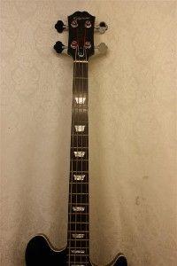 Epiphone Jack Casady Signature Bass Guitar with Case