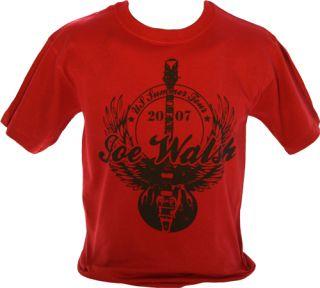 Joe Walsh Analog Man Eagles Mens Shirt 2007 Tour