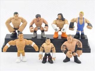 PCS WWE Wrestling Rumblers Alberto Del Rio Evan Bourne Wade Barrett