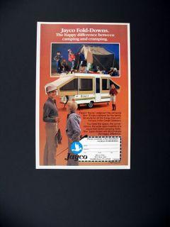 Jayco J Fold Down camper Trailer 1984 Print Ad