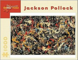Jackson Pollock 1000 Piece Jigsaw Puzzle Brand New and Still SEALED