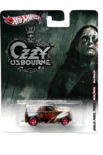 2012 Hot Wheels Ozzy Osbourne Anglia Panel Truck