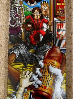 World Industries King of Pills Michael Jackson Deck