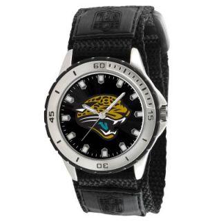 Jacksonville Jaguars NFL Football Wrist Watch Wristwatch Velcro Strap