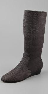 KORS Michael Kors Tharyn Sliver Wedge Boots