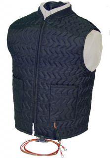 Black Jack Heated Motorcycle Vest Liner