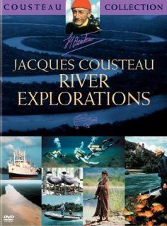 Jacques Cousteau River Explorations DVD New 14 Episodes