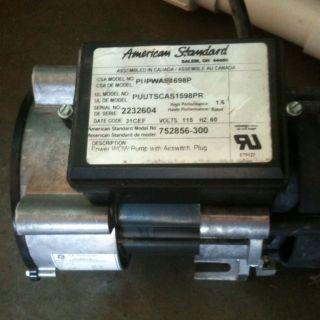 Jacuzzi Water Pump Motor Jet Circulation American Standard